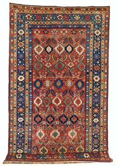 Kurdish rug, from the end of the 19th century