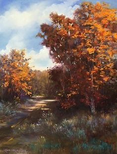 September Glow by LaVone Sterling Pastel ~ 24 x 18