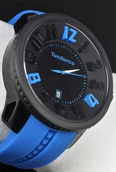 Tendence Black/Blue Gulliver - Cool Watches from Watchismo.com