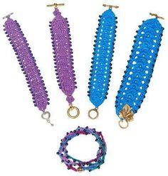 Crochet Beaded Jewelry | Craftsy