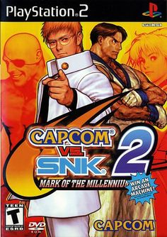 SNK 2 Mark of the Millenium Playstation 2 Game ~Ships Free~ Play Stations, Juegos Ps2, Snk King Of Fighters, Arcade Machine, Gamers, Playstation Games, Mini Games, Fighting Games, Video Game Art