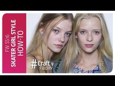 'Techno Rock 'n' Roll' Hair How- To - Wella Professionals Backstage at Acne SS16 - YouTube