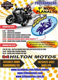 HILTON MOTOS: ACESSE AGORA NOSSO SITE www.hiltonmotos.com E SAIB...