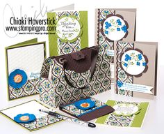 Stamping Pro - Stampin Up!  purse and card set