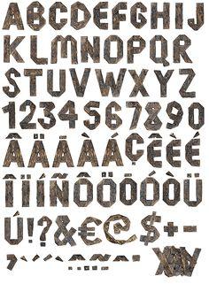 Fahrenheit451-font-alphabet