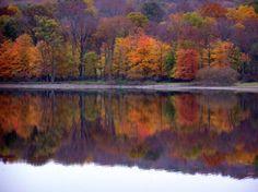 Lake Galena in Bucks County, Pa.