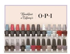 OPI HOLIDAY Collection 2016 Breakfast at Tiffany's Gelcolor - everything2k