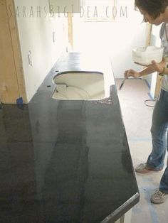 how to make a painted finish super glossy