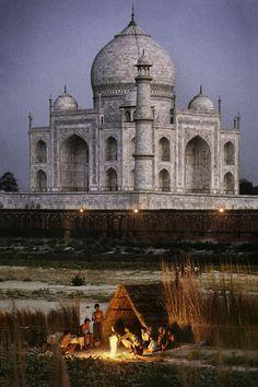 INDIA-10312NF, Taj Mahal, Agra, India, 1996,