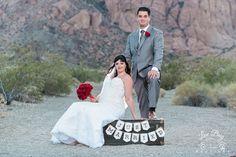 Just Married! #luvbug #nelsonghosttownwedding