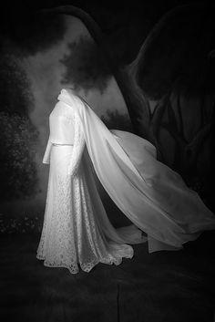 Robe de mariée dentelle jupe corsage