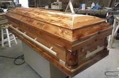 Solid Aromatic Cedar Casket $2495 By SCI Caskets Pleasant Garden NC 336-209-7331 Shipping available