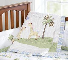 Jungle Friends Nursery Bedding #PotteryBarnKids