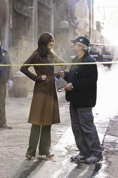 Stana Katic & Director Jeff Bleckner