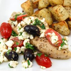 Greek Salsa Chicken