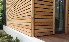 CUBIG Fassade Holz Bungalow