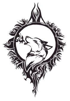 Tattoo Designs   wolf tattoo design by angel of mist designs interfaces tattoo design ...