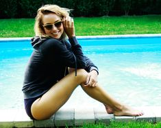 Spending sunup to sundown in a high-waisted bikini, then throwing a yummy hoodie on top when that evening air blows in!