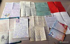 amigos por correspondência por todo o mundo cartas