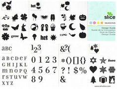 Making Memories Slice Design Card Basic Elements and Slice Design Card Seasons