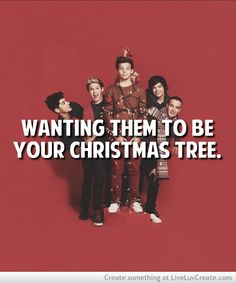 One Direction christmas tree :)