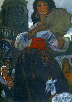 Pyotr Pinkisevich : Esmeralda from Notre-Dame de Paris.