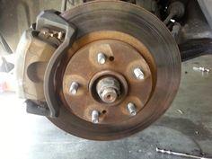 Corolla DIY: DIY - Front Brakes and Rotors 2000 Infiniti I30