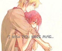 Anime Animegirl Animeboy Sad Mine Bemine