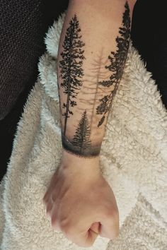 My forest tattoo sleeve
