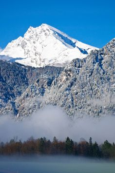 The Berchtesgaden National Park