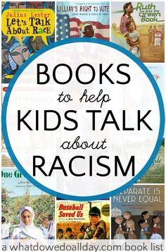 Picture Books that Teach Kids to Combat Racism is part of Diverse books - Picture books to help parents and teachers talk to kids about racism and prejudice Books best for school aged kids Good Books, Books To Read, My Books, Books For Kids, Teen Books, Story Books, Race Book, Mentor Texts, Kids Reading