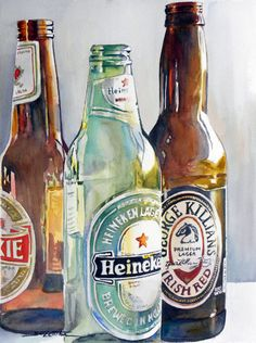 Imported Empties web.jpg (430×576)  by Sue Lynn Cotton