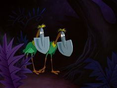 Bird Shovels in Tulgey Wood from Alice in Wonderland - Google Search