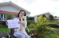 Luana Botinelly teve seu cão confundido com um de grande porte e recebeu ordem de retirada,Polêmica: lugar de cachorro de estimação é no condomínio?
