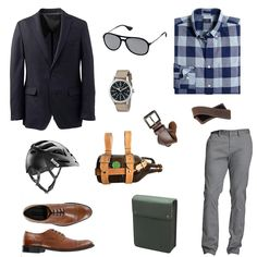 #stylescenario The Work Bike Commute. Find all the picks on Dappered.com. #dappered #mensstyle
