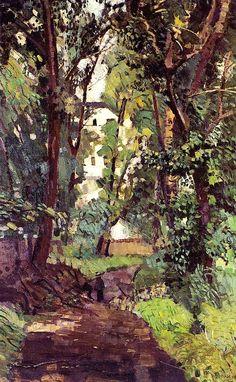 Old Botanical Garden Max Beckmann - 1905