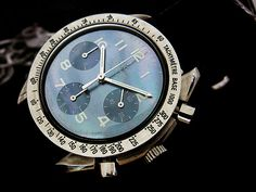 Omega Speedmaster Automatic with Iridescent Grey MOP Dial Ref. 3802.7351
