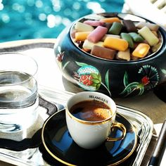 Turkish coffee ❤️☕️ / selamlique istanbul #turkishcoffee #türkkahvesi #deligt #istanbul #bosphorus #istanbul #arduaz #delicacy #boğaziçi #iznikçini #izniktile