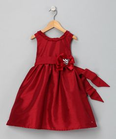 Perfect for Christmas with a little sweater over it. I had a dress similar to this when I was younger