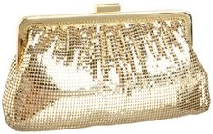 Whiting  Davis Contemporary Shirring Clutch $87.84
