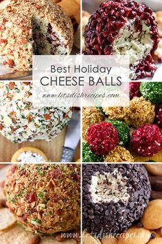 Best Holiday Cheese Ball Recipes: These savory and sweet cheese balls are perfec. Best Holiday Cheese Ball Recipes: These savory and sweet cheese balls are perfect for serving as Th Christmas Cheese, Christmas Appetizers, Appetizers For Party, Appetizer Recipes, Recipes Dinner, Cheese Appetizers, Thanksgiving Appetizers, Catering Recipes, Christmas Snacks