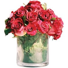Faux Rose Arrangement.....looks so incredibly Real!