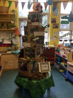 Forest School Display EYFS FS2