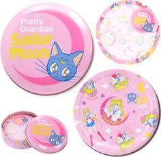 Sailor Moon Memo In Tin -- Luna