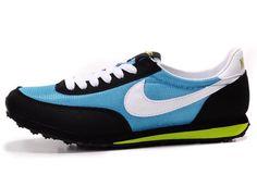 Nike Cortez Low Waffle Shoes Blue Black White 70ccedd31b1