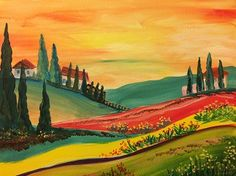 Painting Gallery | Painting Sensations Shelby Twp MI | Painting Class
