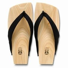 Picture of Mizutori Wood Sandals (Men) 1019588217 (Sandals, Mizutori Shoes, Japan Shoes, Mens Shoes, Mens Sandals)