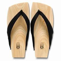 Picture of Mizutori Wood Sandals (Men) 1019588217 (Sandals, Mizutori Shoes, Japan Shoes, Mens Shoes, Mens Sandals)