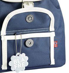 Blafre Kleuter Rugzak Navy Blue (8,5 liter). Shop via things-we-love.nl #thingswelovenl #blafre #backpack #rugzak