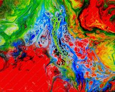 Abstract image fluorescent colors made by the pouring technique. Acrylic Pouring on canvas Abstract Fluorescent, Contemporary Art Canvas Psychedelic Art, Abstract Faces, Abstract Art, Abstract Paintings, Original Art, Original Paintings, Las Mercedes, Monet Paintings, Expressive Art